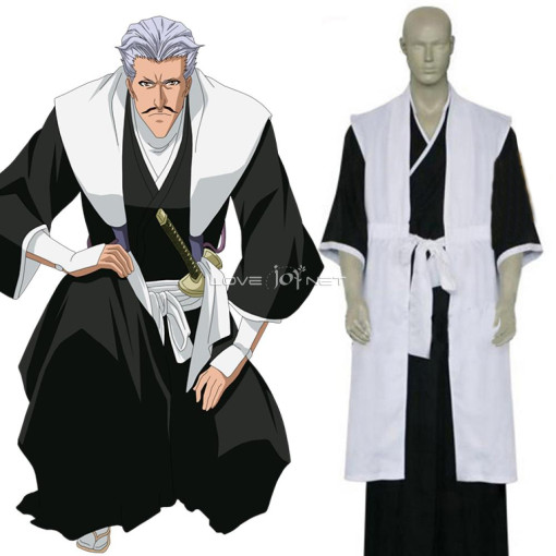 Rulercosplay Bleach 1st Division Lieutenant Sasakibe Chojiro Cosplay Costume Anime Products Wholesal