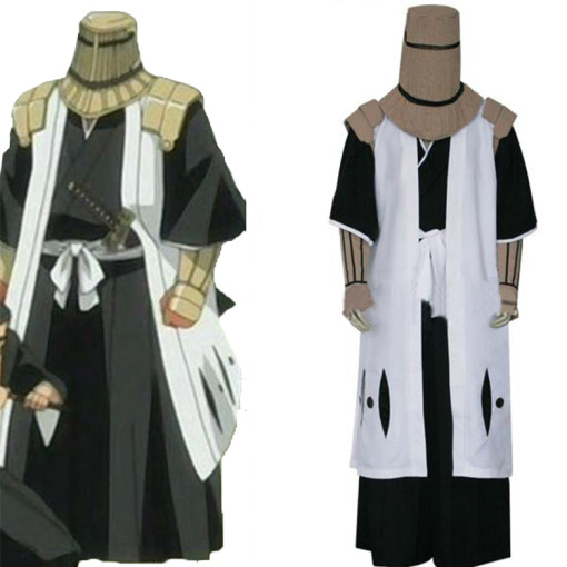 Rulercosplay Bleach 7th Division Captain Komamura Sajin White Cosplay Costume Wholesaler Resaler