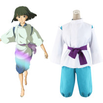 Rulercosplay Spirited Away Miyazaki Hayao Haku White Cosplay Costume Wholesaler Resaler
