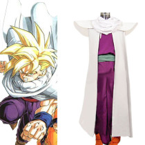 Rulercosplay Dragon Ball Son Goten White Cosplay Costume Wholesaler Resaler