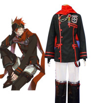 Rulercosplay D.Gray-Man Lavi 3rd Uniform Black Cosplay Costume Wholesaler Resaler