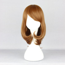 Rulercosplay Medium Long Curly Coffee Lolita Fashion Wigs Wholesaler Resaler