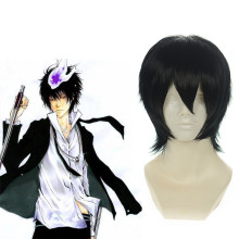 Rulercosplay Short Katekyo Hitman Reborn XANXUS Black Cosplay Anime Wigs Wholesaler Resaler