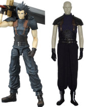 Rulercosplay Final Fantasy VII Zack Fair Black Cosplay Costume Wholesaler Resaler