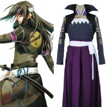 Rulercosplay Hakuouki Hijikata Toshizo Fight Purple Cosplay Costume Wholesaler Resaler