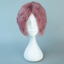Rulercosplay Short Dark Pink Harajuku Lolita  Wigs Wholesaler Resaler