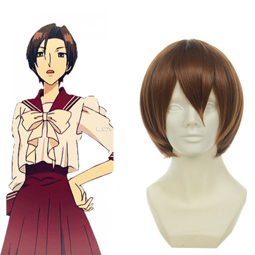 Rulercosplay Heat Resistant Fiber Inspired By Ouran High School Host Club Benio Amakusa Short Brown