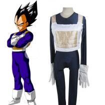 Rulercosplay Dragon Ball Battle Cloth Uniform Cloth Combined Leather Vegeta Cosplay Costume Wholesal