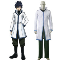 Rulercosplay Fairy Tail Gray Fullbuster White Cosplay Costume Wholesaler Resaler
