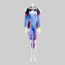 Overwatch D.VA Tight Fitting Garment Driving Suit Anime Cosplay Costumes