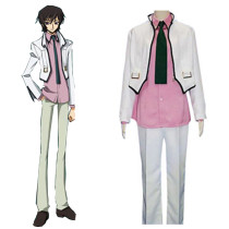 Rulercosplay Code Geass Lelouch (Casual wear) White Cosplay Costume Wholesaler Resaler