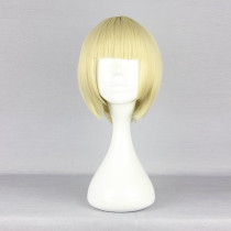 Rulercosplay Short Straight Yellow Lolita Fashion Wigs Wholesaler Resaler