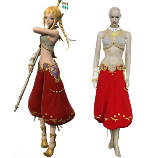 Rulercosplay Final Fantasy XII Penelo Red Cosplay Costume Wholesaler Resaler