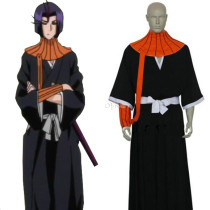 Rulercosplay Bleach Ayasegawa Yumichika Black Cosplay Costume Wholesaler Resaler