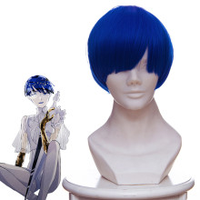 Rulercosplay Land of the Lustrous Lapis Lazuli Short Blue Mixed Anime Cosplay Wigs