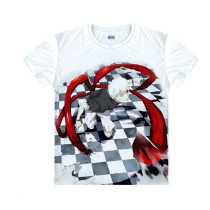 Tokyo Ghoul Fashion Animation White Smooth Decron T-shirt 033 More Patterns