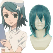 Rulercosplay Nabari No Ou Minami Jyuji Short Green Anime Cosplay Wigs Wholesaler Resaler