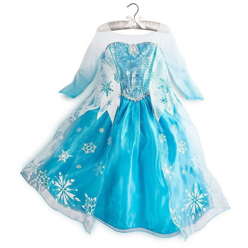 Movie Frozen Children Cosplay Costume