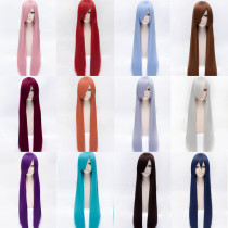 Rulercosplay Fashion Heat Resistant Fiber 100cm Long Anime Cosplay Anime Wigs Wholesaler Resaler