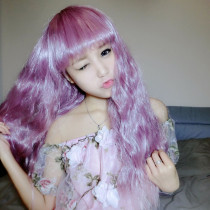 Rulercosplay Long Curl Rose Lolita Fashion  Wigs Wholesaler Resaler