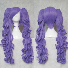 Rulercosplay Long Curly Purple Ponytails Lolita Wigs Wholesaler Resaler