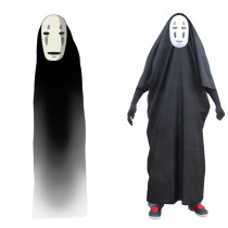 Rulercosplay Spirited Away No Face (Kaonashi) Black Cosplay Costume Wholesaler Resaler