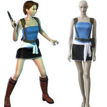 Rulercosplay Resident Evil Jill Valentin Blue Cosplay Costume Wholesaler Resaler