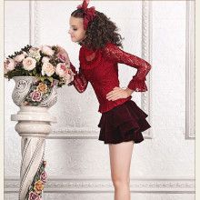 Fashion Retro Hollow-out Polyamide Fibre Long Sleeves Sweet Lolita Blouse for Women