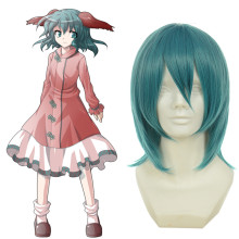 Rulercosplay Touhou Project Kasodani Kyouko Short Green Anime Cosplay Wigs Wholesaler Resaler