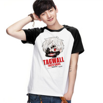 Tokyo Ghoul Adult Cotton Fashion Animation T-shirt 2 Colors
