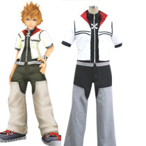 Rulercosplay Kingdom Hearts II Roxas White Cosplay Costume Wholesaler Resaler