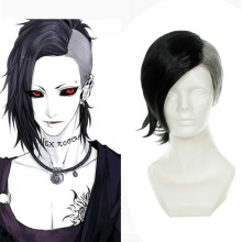 Rulercosplay Tokyo Ghoul Uta Black Short Anime Cosplay Anime Wigs Wholesaler Resaler
