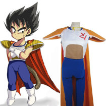 Rulercosplay Dragon Ball Uniform Cloth Combined Leather Vegeta Super Prince Cosplay Costume Wholesal
