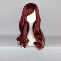 Rulercosplay Medium Long Curly Wine Red Lolita Fashion Wigs Wholesaler Resaler