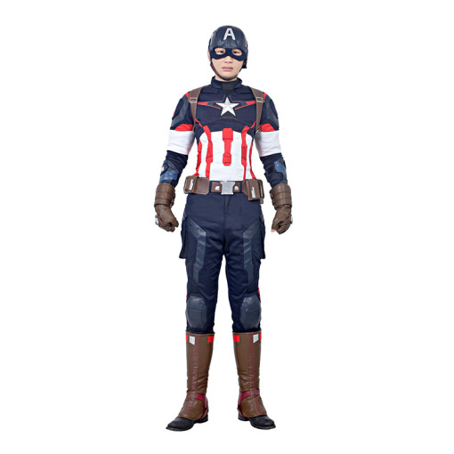 Avengers Age Of Ultron Captain America Anime Cosplay Costumes