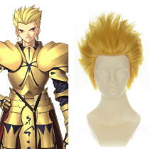 Rulercosplay Fate Stay Night Gilgamesh Archer Yellow High Temperature Fiber Short Anime Cosplay Anim