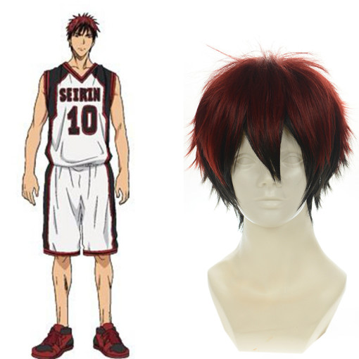 Rulercosplay Heat Resistant Fiber Inspired By The Basketball Which Kuroko Plays Kagami Taiga Short R