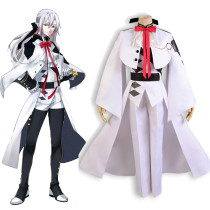 Rulercosplay Seraph Of The End Ferid Bathory White Anime Cosplay Costume Wholesaler Resaler