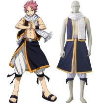 Rulercosplay Fairy Tail Natsu Dragneel Navy Cosplay Costume Wholesaler Resaler