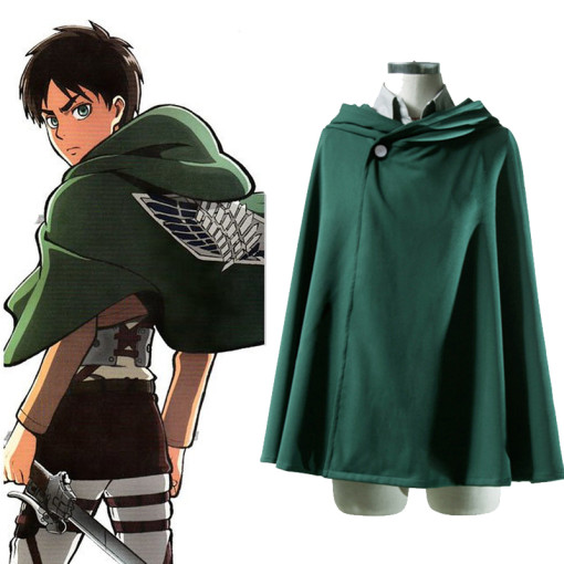 Rulercosplay Attack On Titan Green Uniform Cloth Cloak Cosplay Costume Wholesaler Resaler