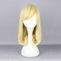 Rulercosplay Medium Long Curly Yellow Lolita Wigs Wholesaler Resaler