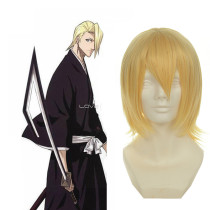 Rulercosplay Bleach Kira Izuru Yellow Heat Resistant Fiber Yellow Cosplay Anime Wigs Wholesaler Resa