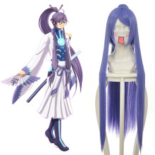 Rulercospaly Vocaloid Gakupo Long Straight Purple Anime Cosplay Wigs Wholesaler Resaler
