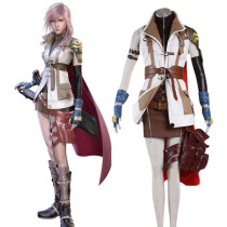 Rulercosplay Final Fantasy XIII Lightning White Cosplay Costume Wholesaler Resaler