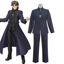 Rulercosplay Fate Zero Kirei Kotomine Navy Cosplay Costume Wholesaler Resaler