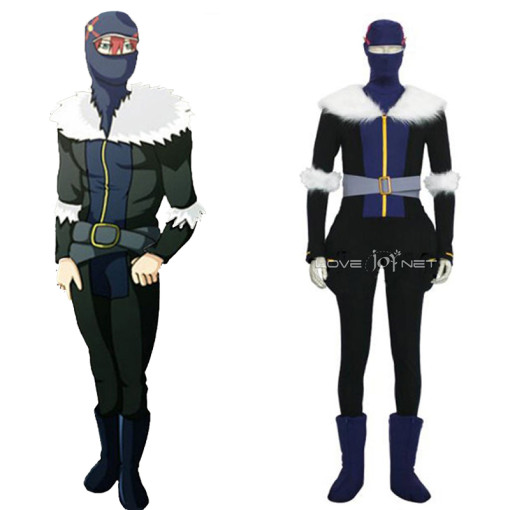 Rulercosplay Bleach Nova Ninja Cosplay Black Costume Wholesaler Resaler