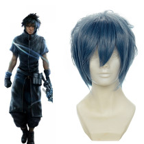 Rulercosplay Final Fantasy Noctis Lucis Caelum Heat Resistant Fiber Blue Cospaly Anime Wigs Wholesal