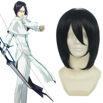 Rulercospaly BLEACH Ishida Uryu Short Black Anime Cosplay Wigs Wholesaler Resaler