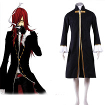 Rulercosplay D Gray-Man Cross Maria Black Cosplay Costume Wholesaler Resaler