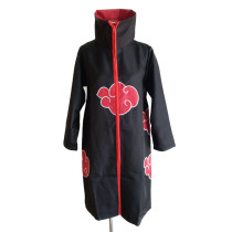 Rulercosplay Naruto Akatsuki Black Unifrom Cloth Cosplay Costume Wholesaler Resaler